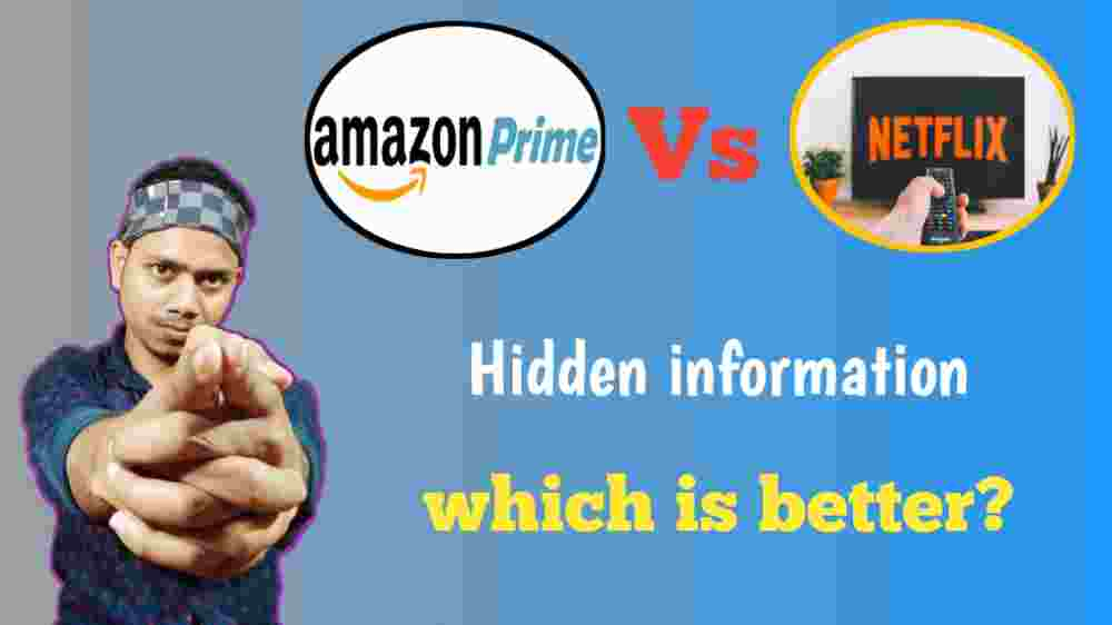 Netflix vs amazon prime which is better