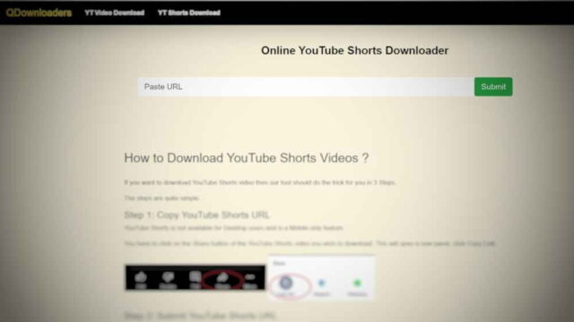 How do I download shorts videos